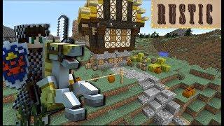 Categorias de vídeos Minecraft Rustic Mod