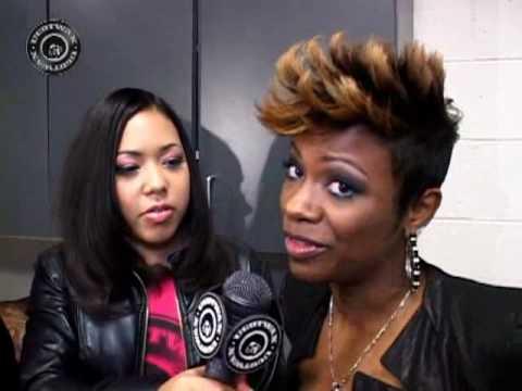 RASHEEDA & KANDI  EXCLUSIVE BACKSTAGE INTERVIEW