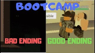 ROBLOX Bootcamp - All 2 Endings {Full Video}