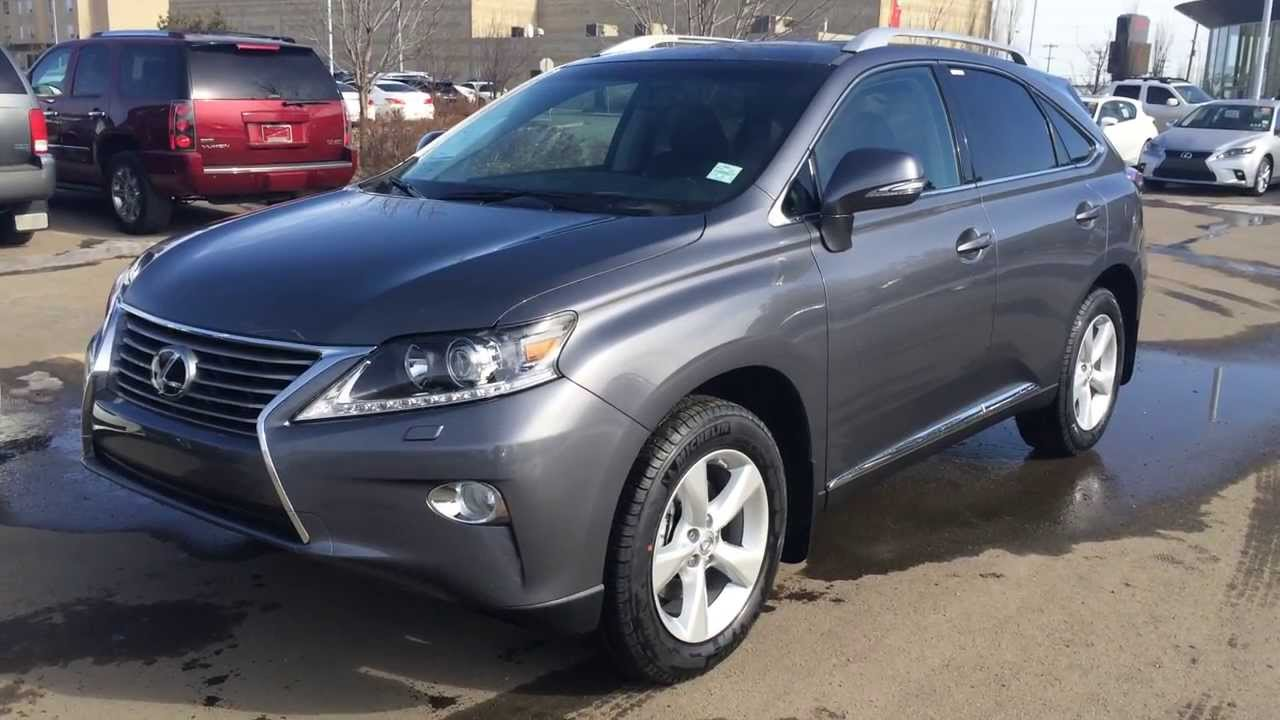 2014 lexus rx 350 awd premium package review in grey nebula pearl youtube. Black Bedroom Furniture Sets. Home Design Ideas