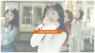 TWICE   NAYEON Line Evolution • APR 18 Mpgun com