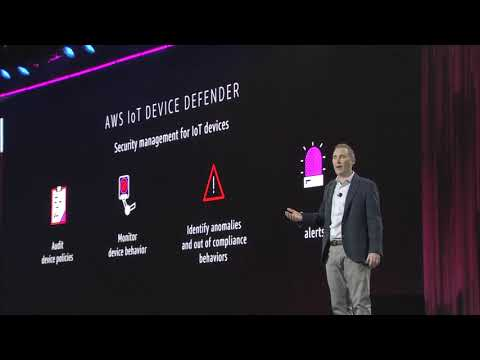 AWS re:Invent 2017 - Announcing AWS IoT Device Defender