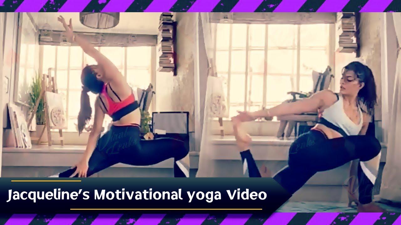Jacqueline Fernandez का Video हुआ Viral, कहा 'जीवन के लिए और जीवित रहने के लिए करें योगा |