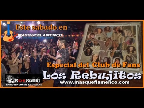 """Club de Fans Los Rebujitos en """"mas que flamenco """""""
