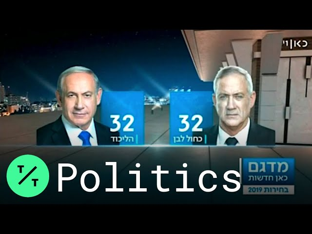 Netanyahu vs. Gantz: Israel Election Too Close to Call, Exit Polls Show