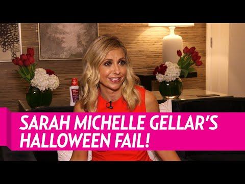 Sarah Michelle Gellar on Her Epic 'Buffy' Halloween Fail