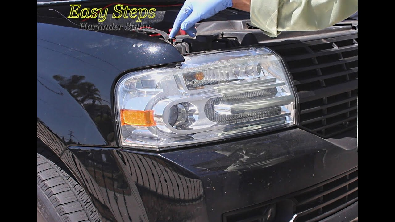 How To Change Headlight Bulb On 07 14 Lincoln Navigator Hid Xenon D3s Bulbs