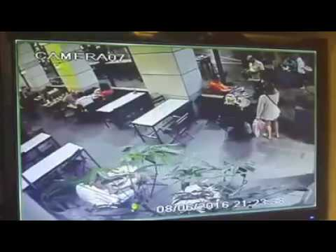 Security footage of terrorist attack in Tel Aviv - The Times of Israel