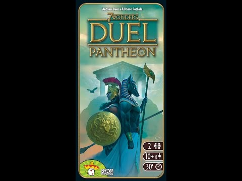 7 Wonders Duel: Pantheon | Board Game | BoardGameGeek