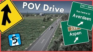 Cities Skylines Drive : Averdeen County Hwy 5