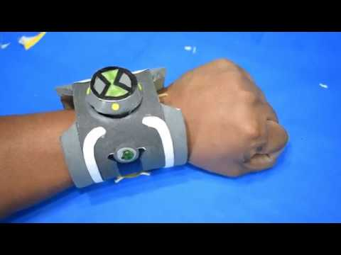 How to make  Ben 10 Alien Force - Omnitrix ( Original ) -  DIY