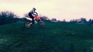 Прыжок на MOTOLAND XR 250