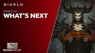 BlizzConline 2021 - Diablo IV: What's Next
