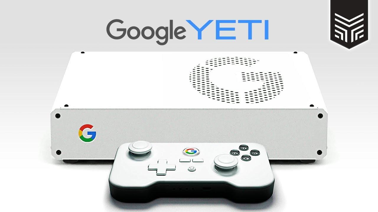 O CONSOLE DO GOOGLE: YETI - YouTube