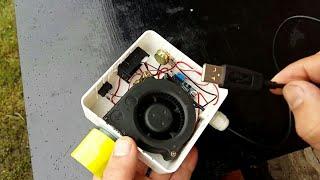 Вентиляторний блок для димогенератора свойми руками