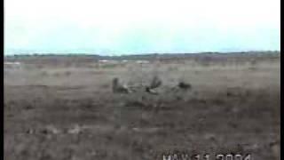 BALLISTIC MISSILE M115 -U.S (HUGE EXPLOSION)