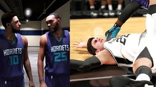 NBA 2k15 MyCAREER Gameplay - First Official Game in the NBA! Career Ending Injury for Splitter?