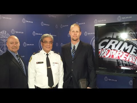 Public Safety Alert re: Distraction Thefts   @TorontoPolice News Conference