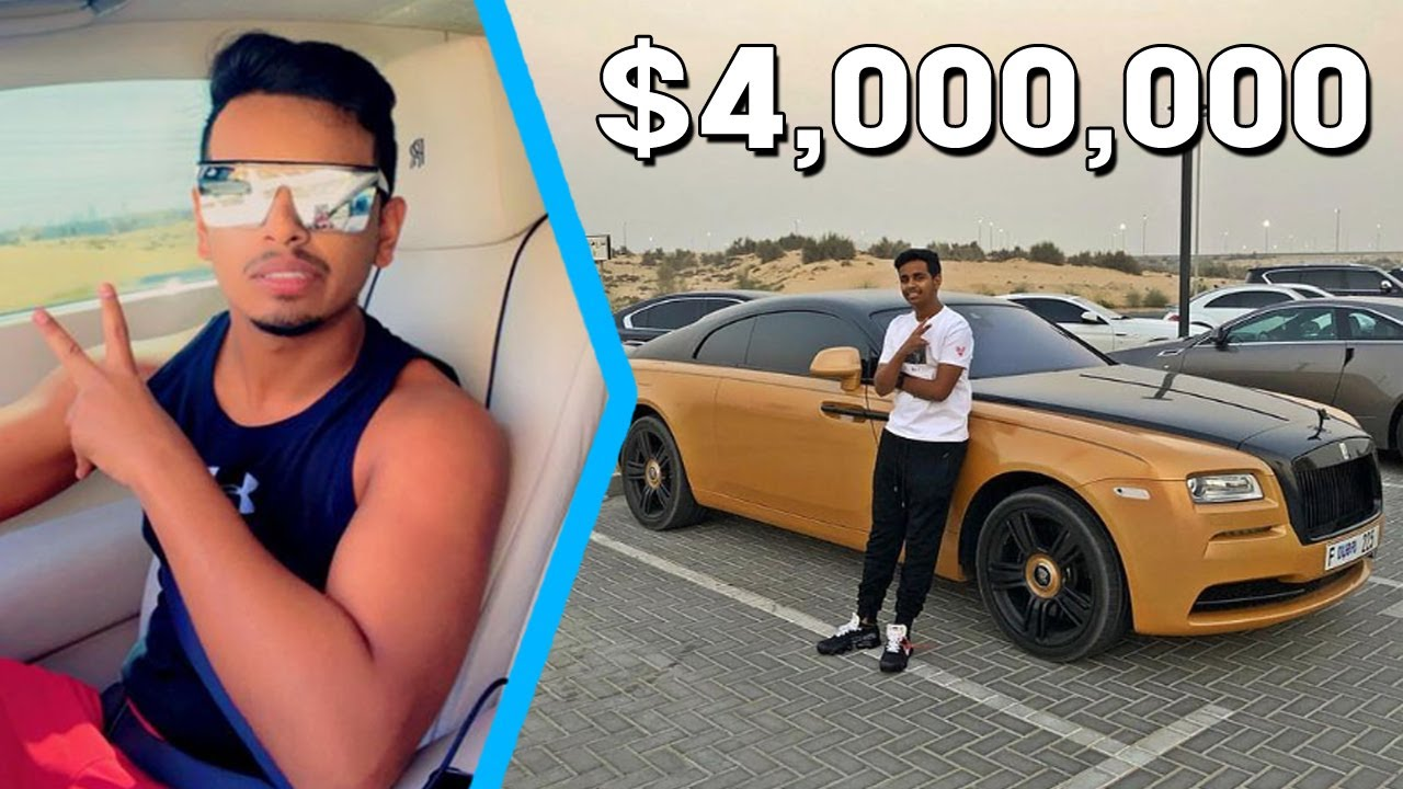 e4b9c4de0403 13 Expensive Things Owned By Rashed Belhasa AKA Money Kicks And His Father  Ahmed