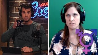 TRANSGENDER DEBATE: Crowder Argues Science  vs. Julie Rei Goldstein | Louder With Crowder