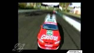 Pro Race Driver PC Games Gameplay - E3 2002: Video 1