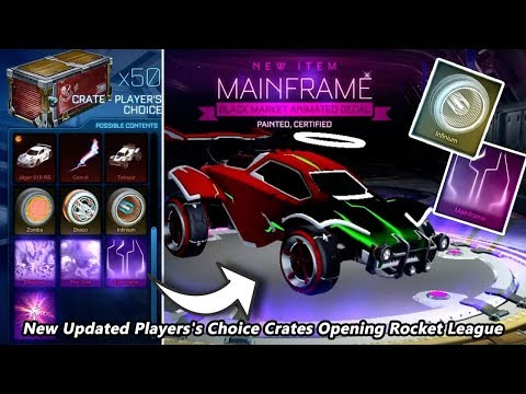 Best New Updated Player's Choice Crates Opening Rocket League thumbnail
