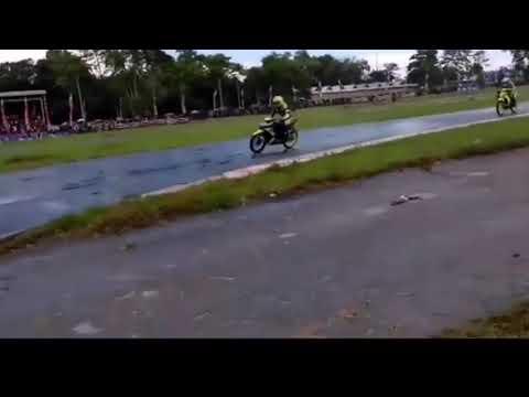 KECELAKAAN DRAMATIS ROAD RACE NGERIII