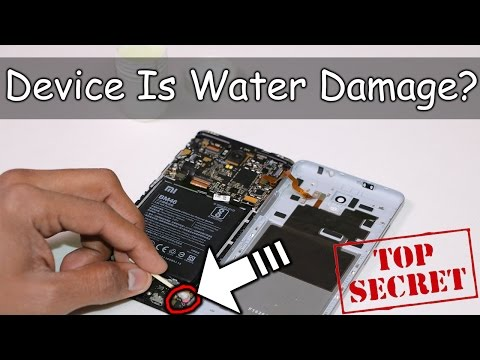 Your Device Is Water Damaged? What You Can Do? #Secret