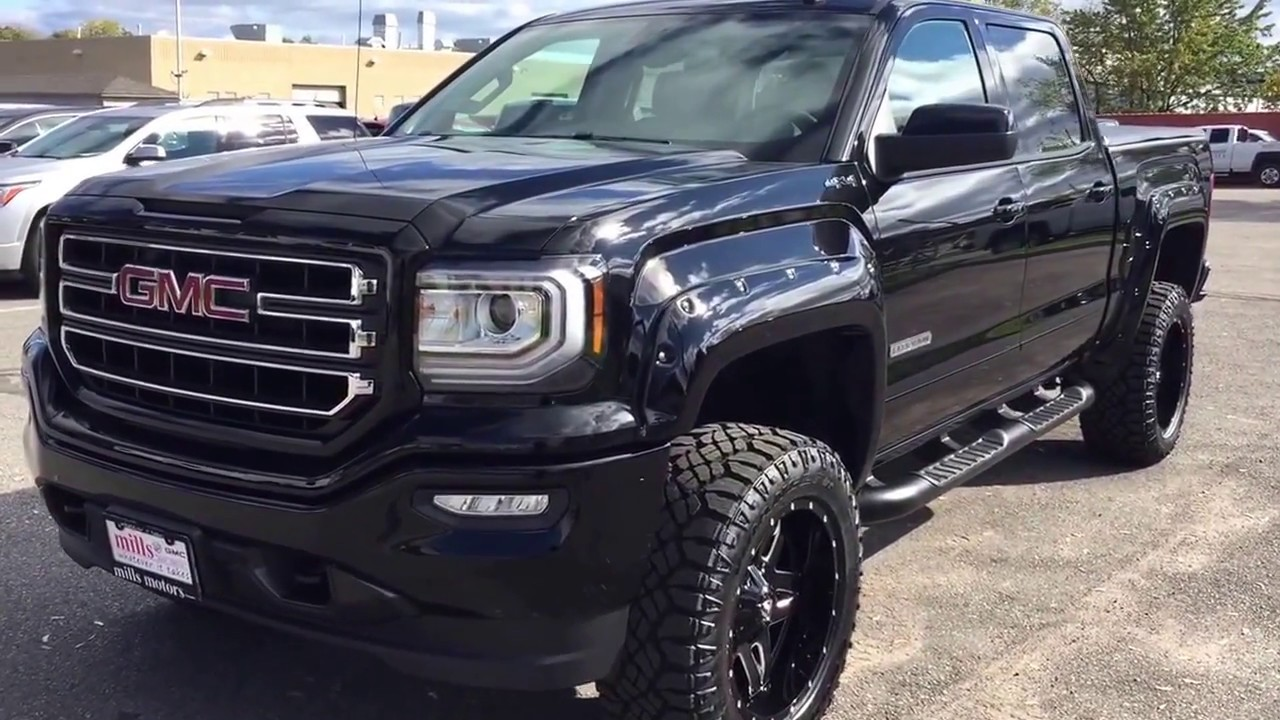 2018 Custom Truck 5 Inch Rough Country Lift Fuel Wheels ...