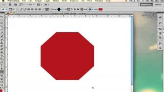 How to Draw an Octagon in Photoshop : Adobe Photoshop