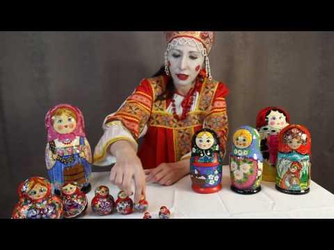 Детские матрёшки | Видео обзор - Детская матрёшка