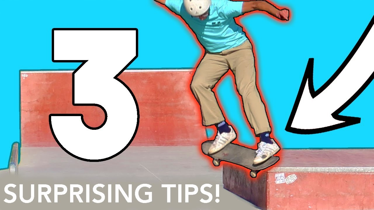 3 SURPRISING Tips to Get Good at Skateboarding!