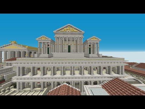 Comment construire Rome dans Minecraft Ep 27 Le Tabularium