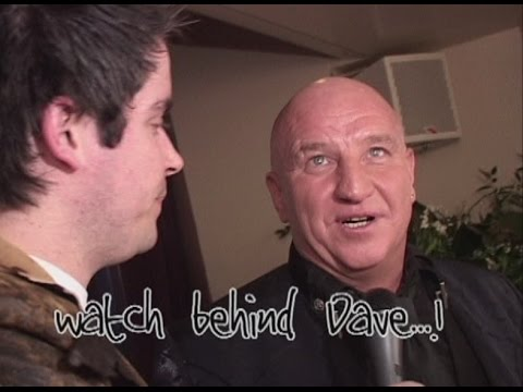 Reporter Gets Punched at Dave Courtney Interview!