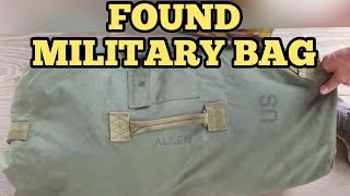 found-military-bag-i-bought-abandoned-storage-unit-locker-opening-mystery-boxes-storage-wars-auction