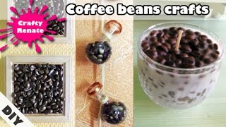 Coffee beans crafts (decorations)