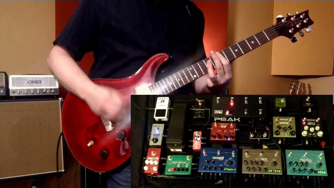 Live Guitar Rig Test Muse S Starlight Strymon Vox Evh Prs
