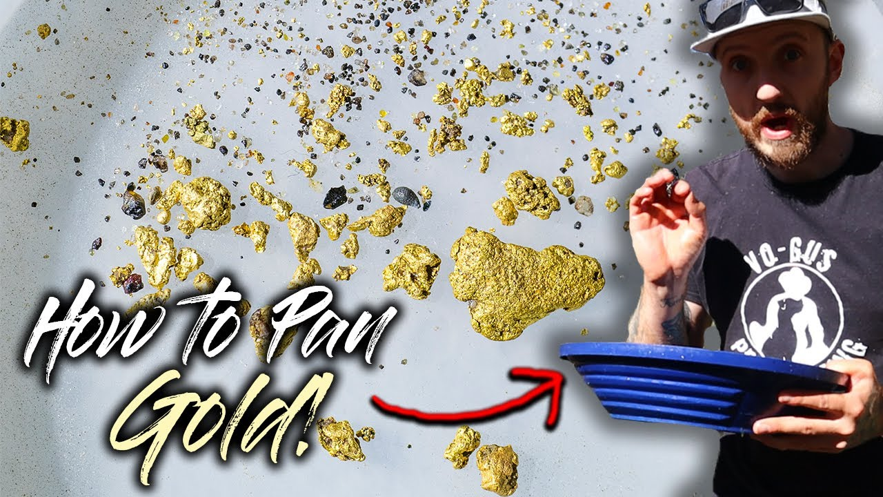 How to Use a Gold Pan | Complete Guide