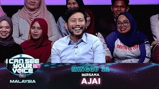 [FULL] I Can See Your Voice Malaysia (Musim 2) Minggu 11 Bersama Ajai | #ICSYVMY