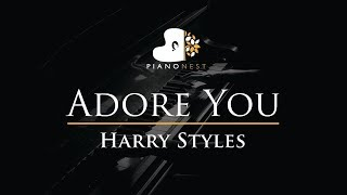 Harry Styles - Adore You - Piano Karaoke Instrumental Cover with Lyrics