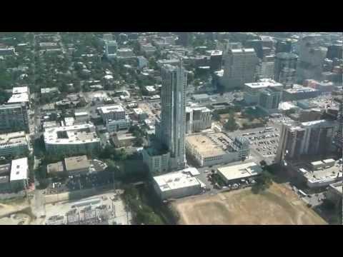 Downtown Austin Condo Helicopter Tour Spring 360 W Hotel Austonian