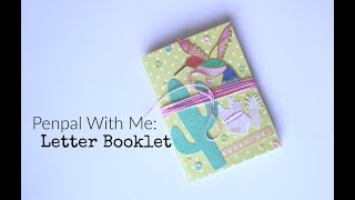 Penpal With Me: Letter Booklet