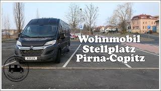 Wohnmobilstellplatz Pirna Copitz an der Elbe - Sachsen 🚐
