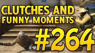 CSGO Funny Moments and Clutches #264 - CAFM