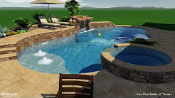 Custom Pool Builders The Woodlands, TX | Your Pool Builder The Woodlands
