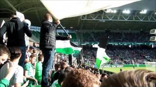 AS Saint-Etienne vs Angers SCO au cœur du Kop Nord