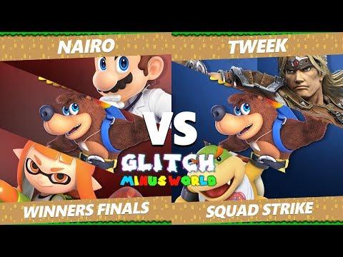 Glitch 7 SSBU - NRG | Nairo Vs. TSM | Tweek - Smash Ultimate Squad Strike Winners Finals