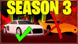 NEW AUDI R8 IS ADDING INSIDE ON JAILBREAK ROBLOX SEASON 3