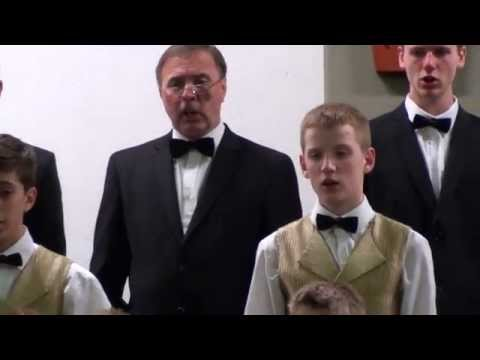 Riga Dimd - Latvian Folk Song - JMM Boy's Choir of Riga - Latvia