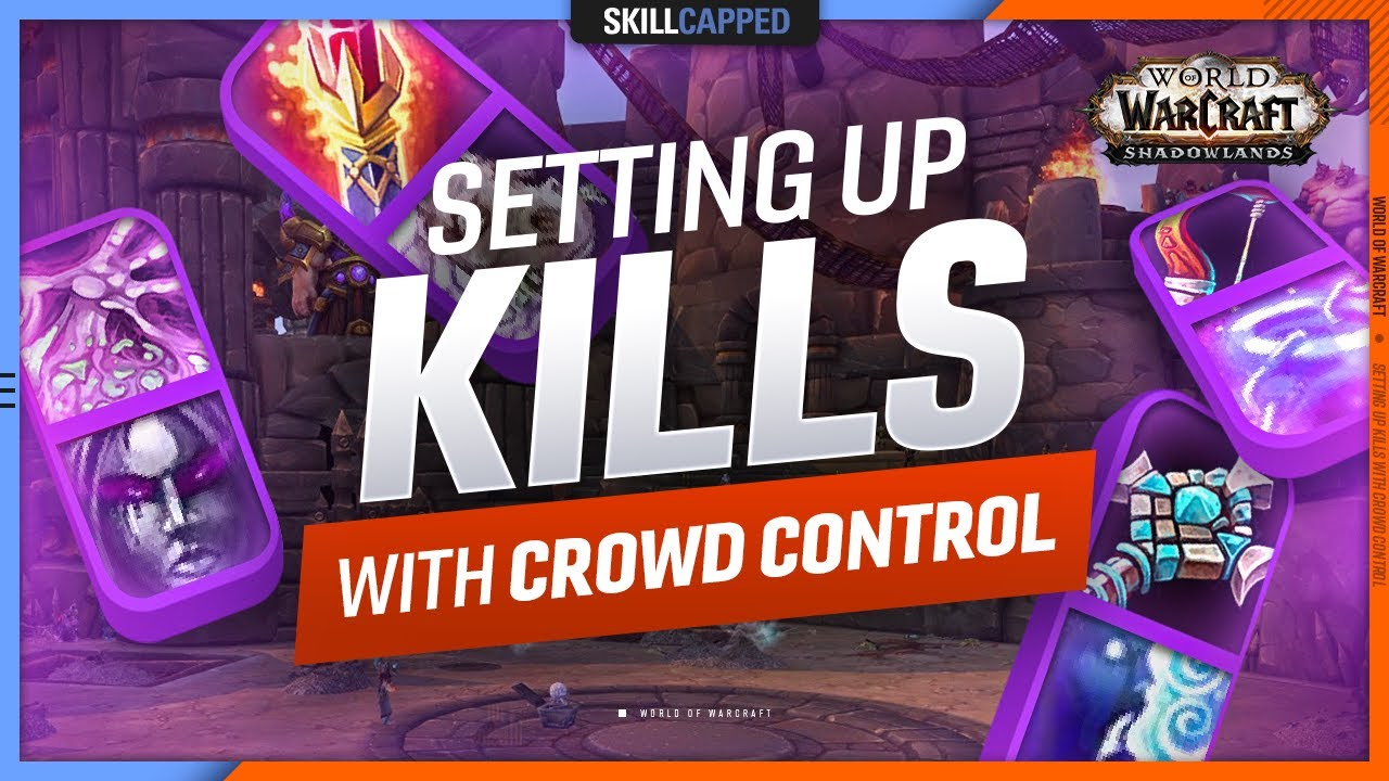 WIN MORE GAMES by SETTING UP KILLS with CROWD CONTROL - WoW Beginners PvP Guide